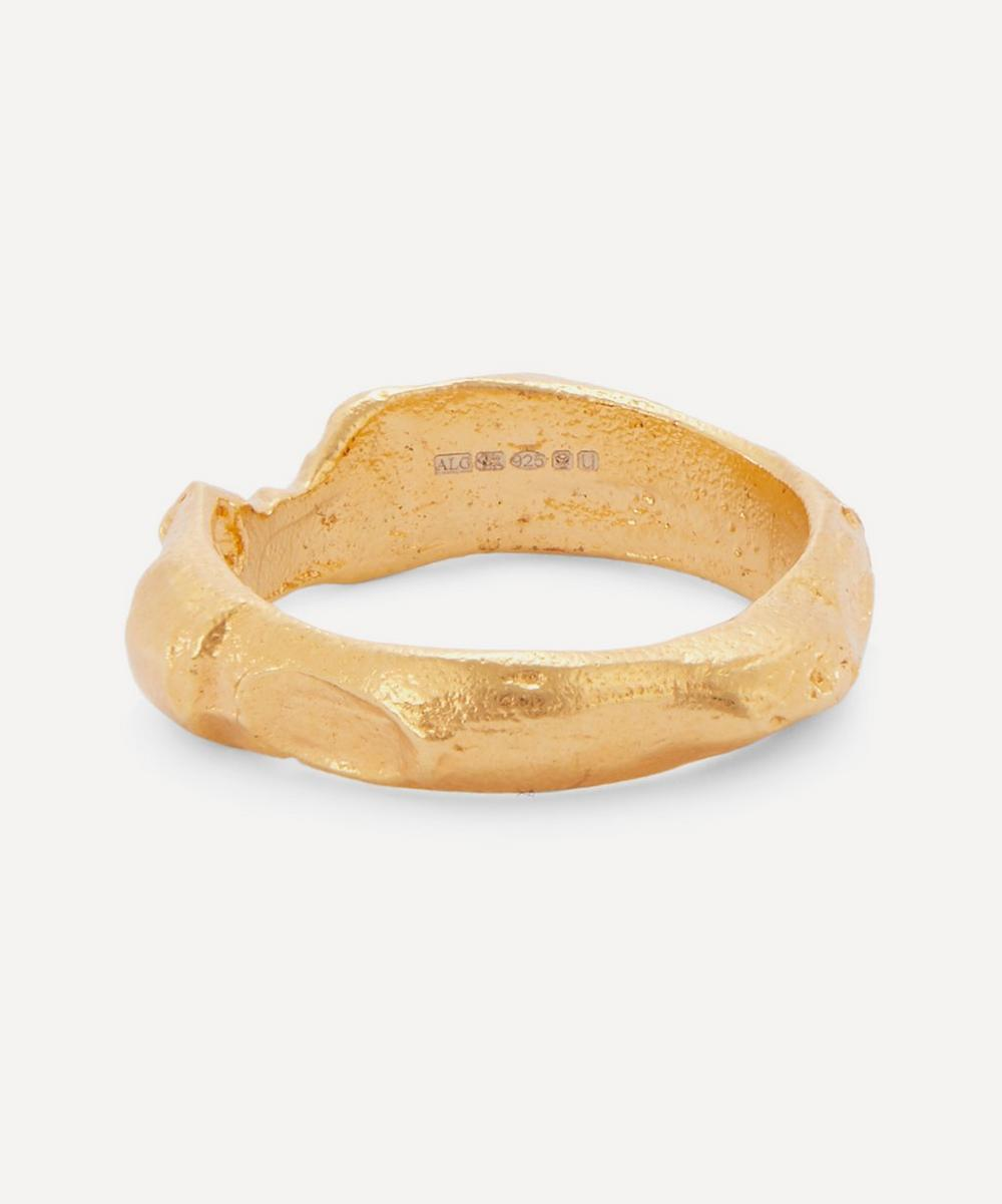 Alighieri - Gold-Plated The Edge of the Abyss Ring