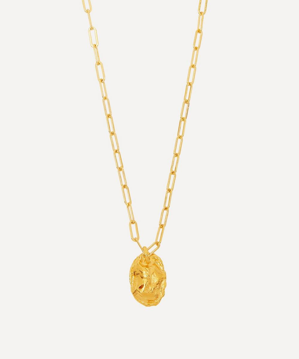 Alighieri - Gold-Plated The Infinite Offering Pendant Necklace