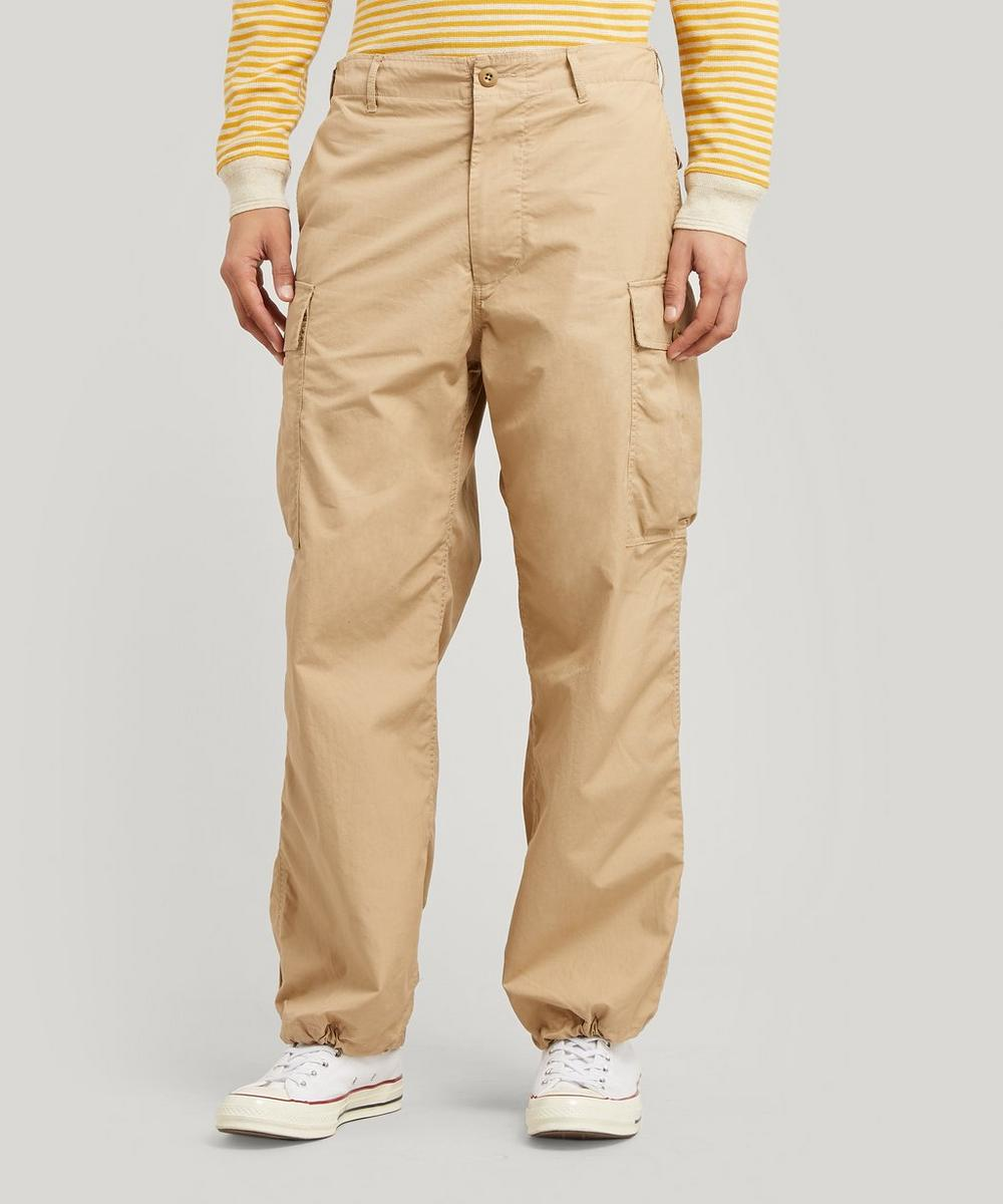 Beams Plus - Ripstop Cotton Cargo Trousers