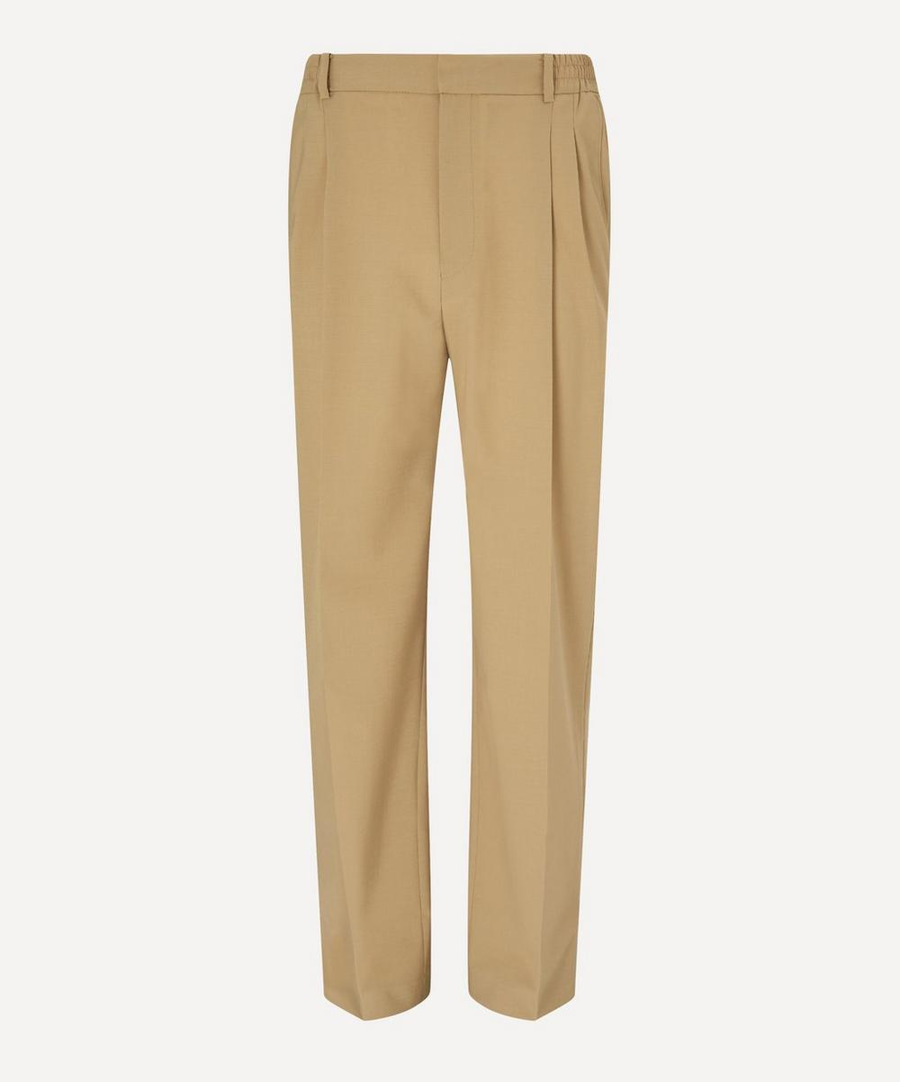 CMMN SWDN - Jez Pleated Relaxed Fit Trousers