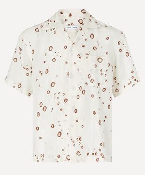Kim Camp Collar Jacquard Shirt