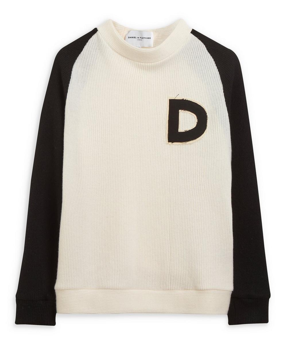 Daniel W. Fletcher - D Logo Varsity Sweater