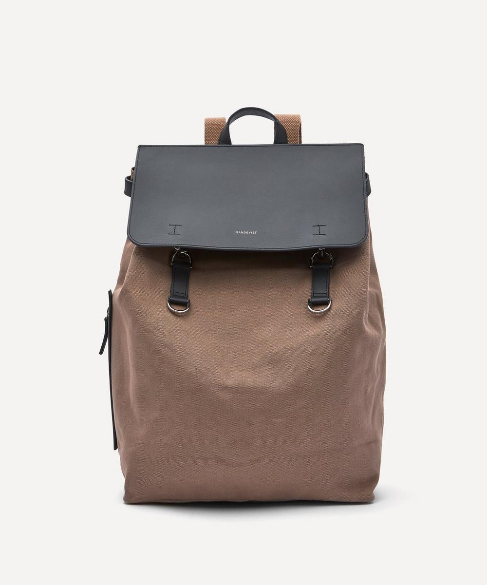 Sandqvist - Hege Metal Hook Cotton Canvas Backpack