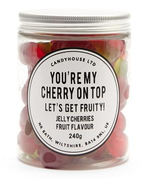 You're My Cherry on Top Fruit Flavoured Twin Cherries 210g