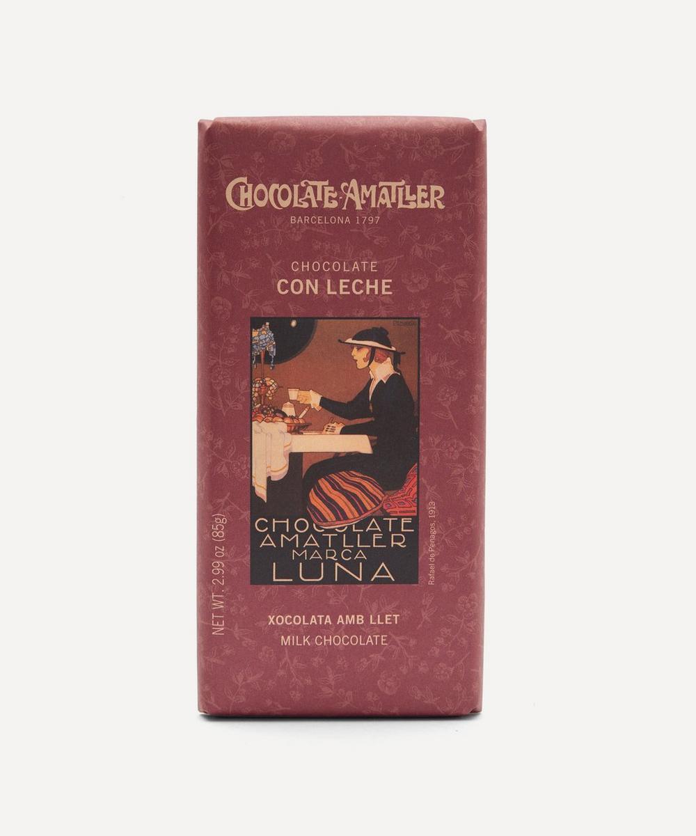 Chocolate Amatller - Milk Chocolate Bar 85g