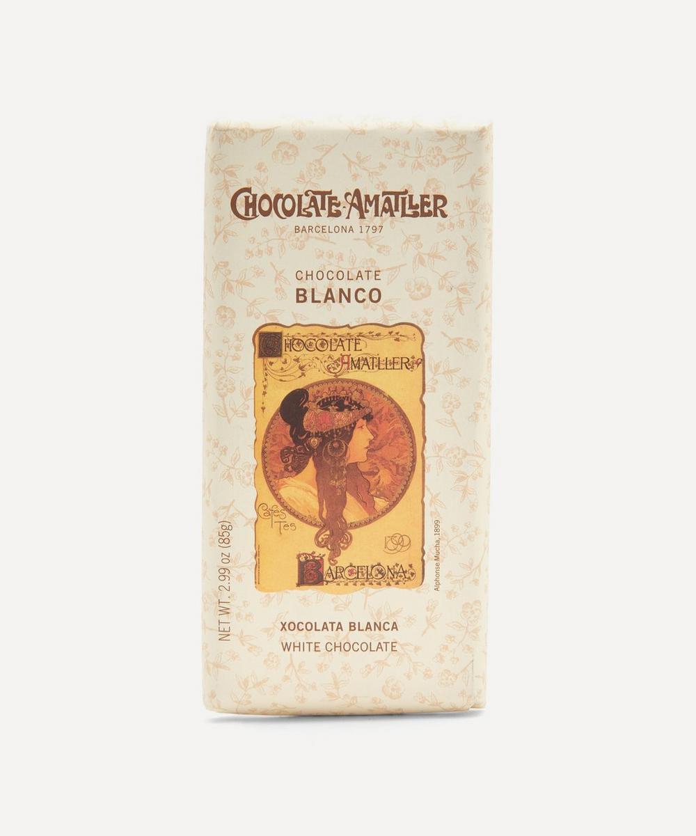 Chocolate Amatller - White Chocolate Bar 85g