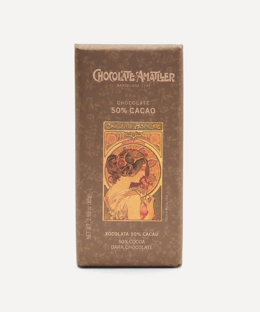 Chocolate Amatller - 50% Dark Chocolate Bar 85g