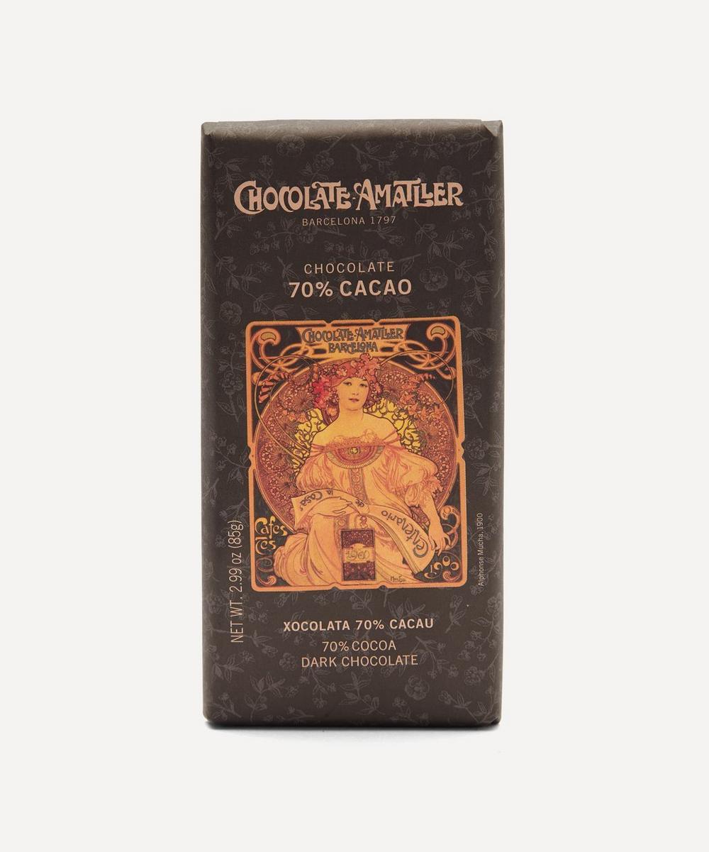 Chocolate Amatller - 70% Dark Chocolate Bar 85g