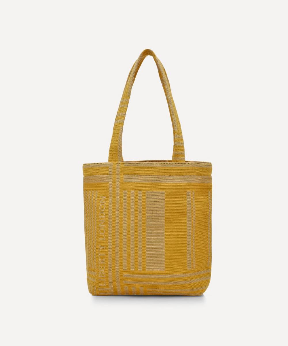 Liberty - Mini Jacquard Building Tote Bag