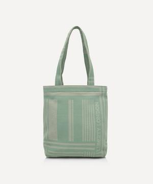 Mini Jacquard Building Tote Bag
