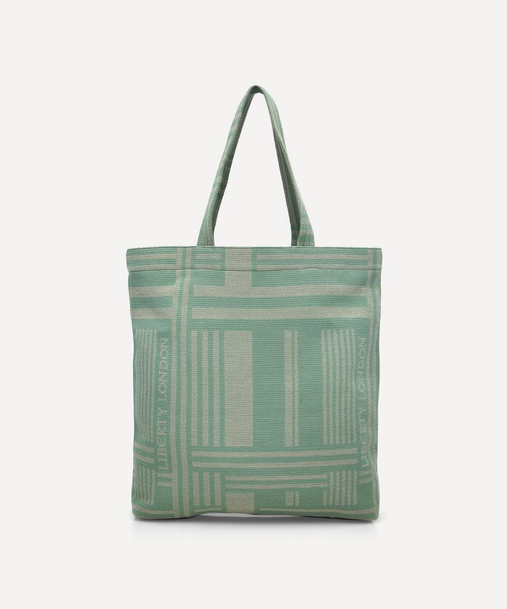 Liberty - Pocket Jacquard Building Tote Bag