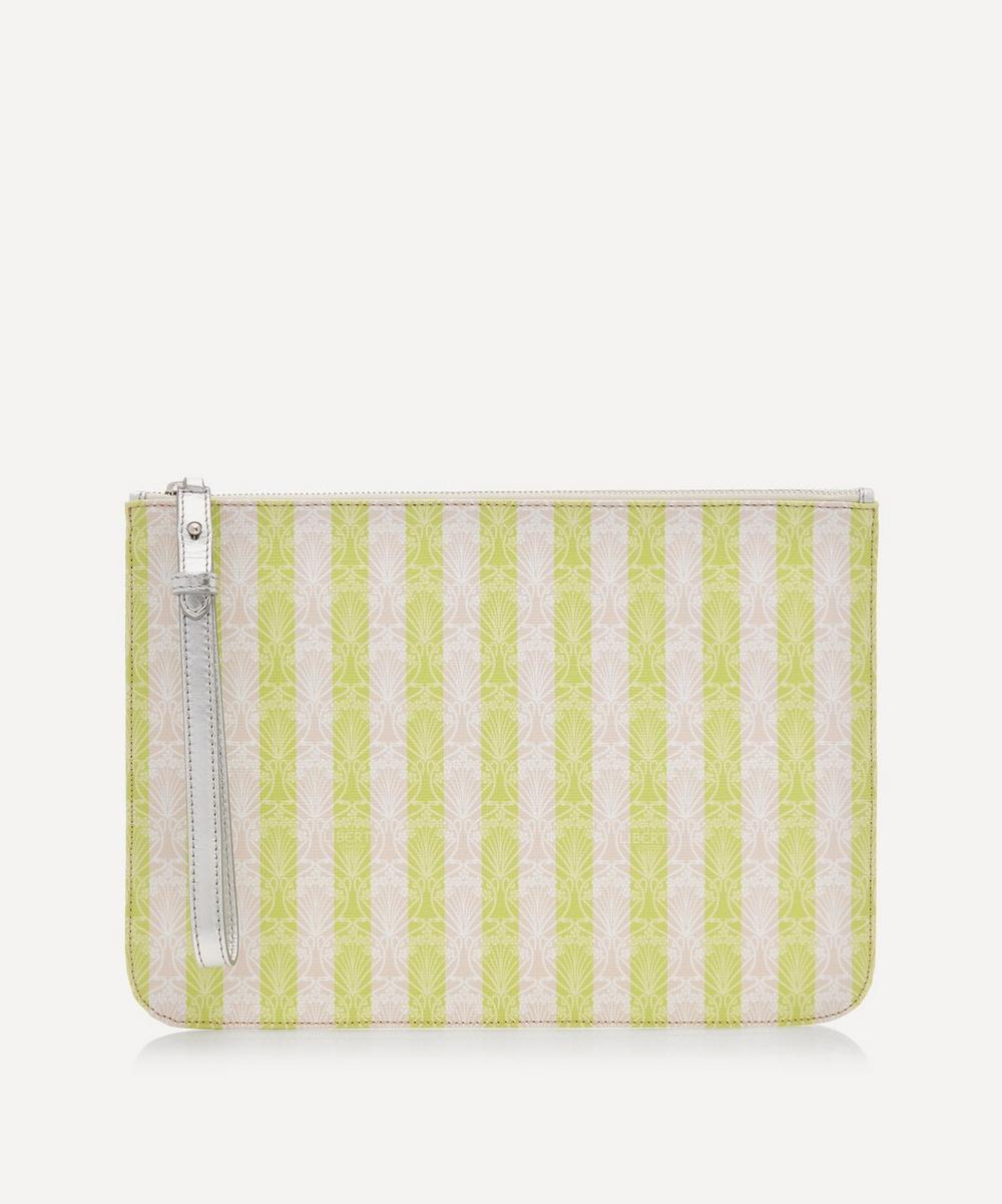 Liberty - Iphis Stripe Large Clutch Pouch