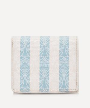 Iphis Stripe Double Wallet
