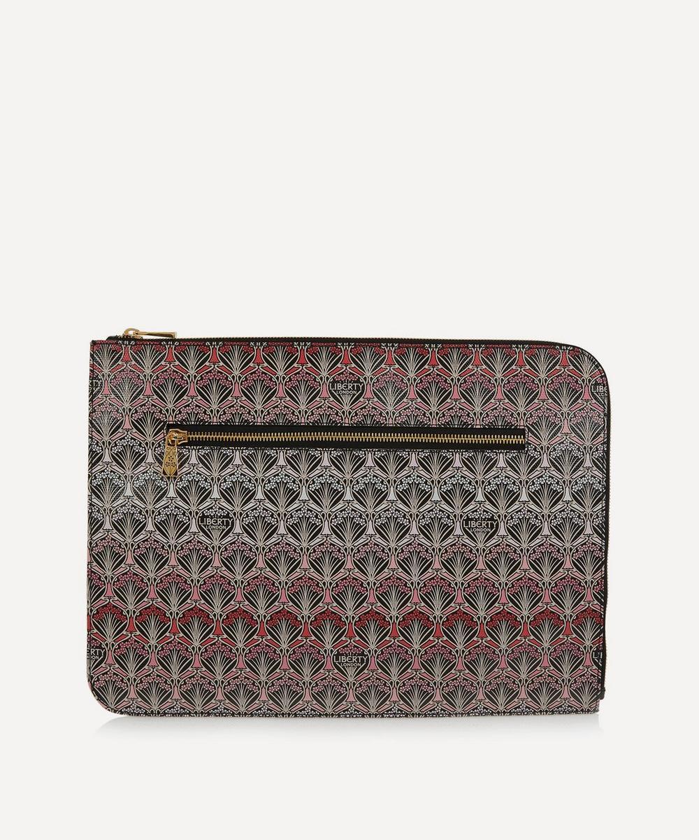 Classic Print Coin Purse Makeup Bag Zip Canvas Purse Wallet Pocket Handbag