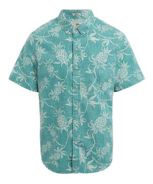 Aloha Pineapple Short-Sleeve Shirt