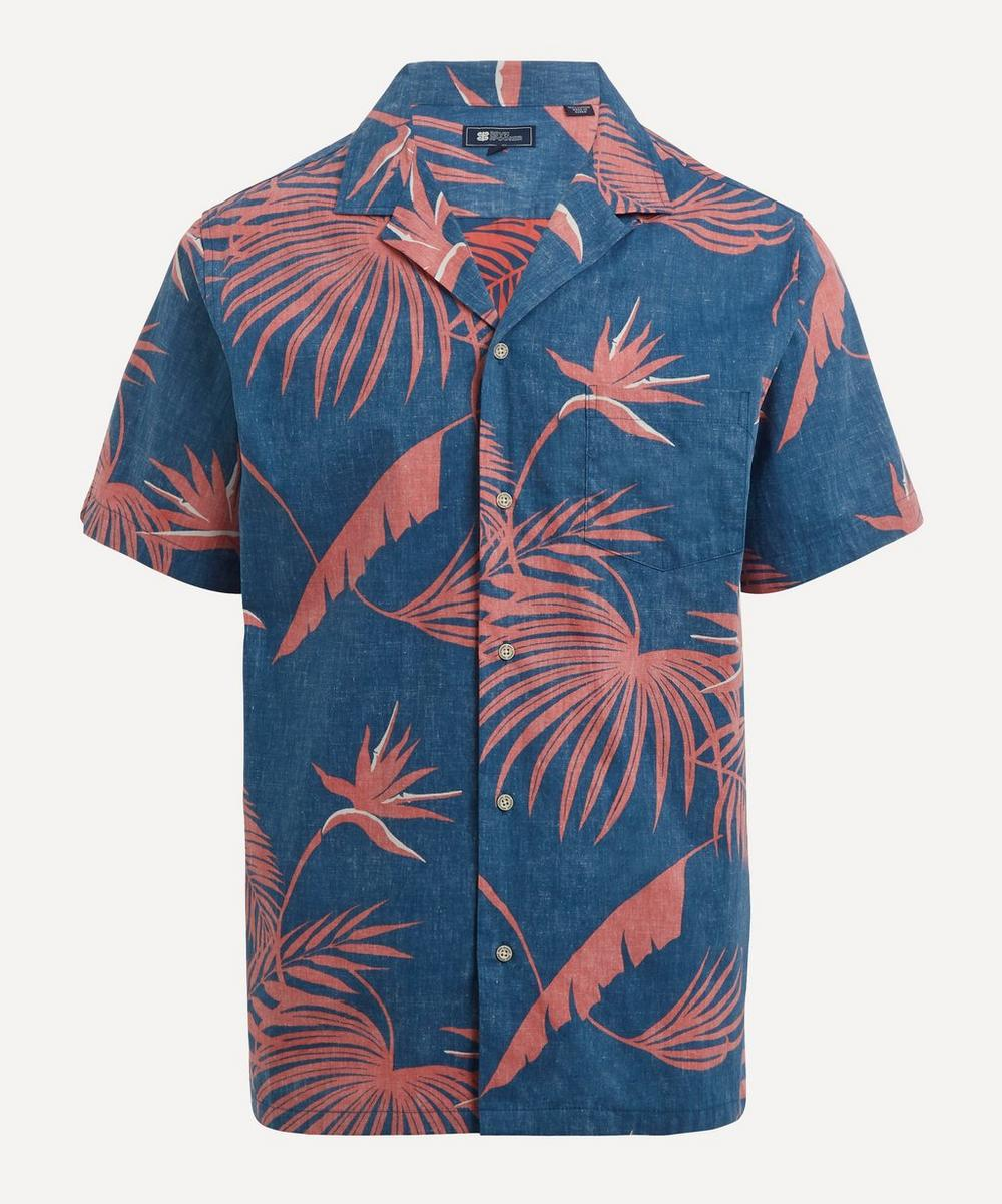 Reyn Spooner - Red Palm Short-Sleeve Shirt