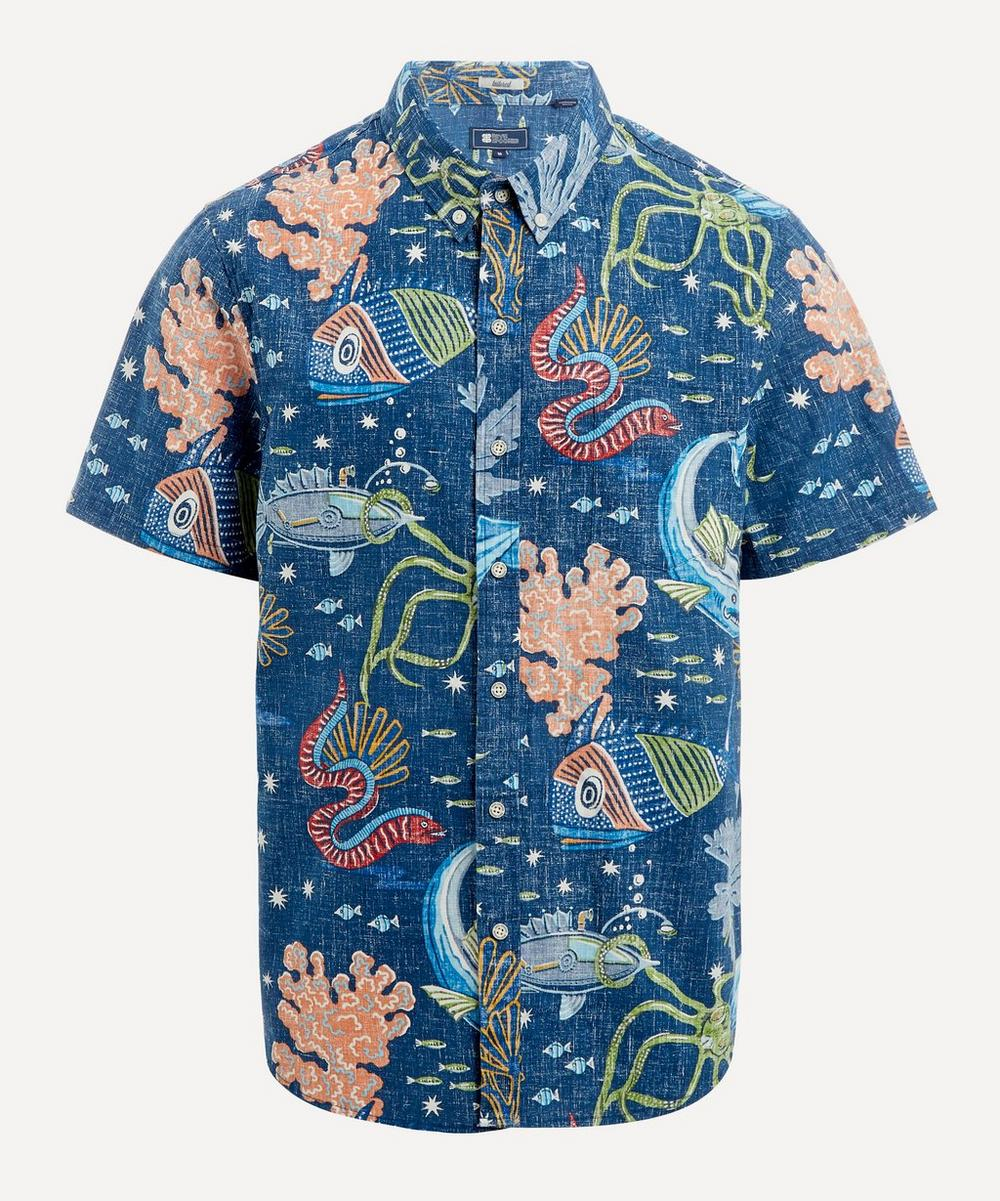 Reyn Spooner - Deep Sea Jive Print Button-Down Shirt