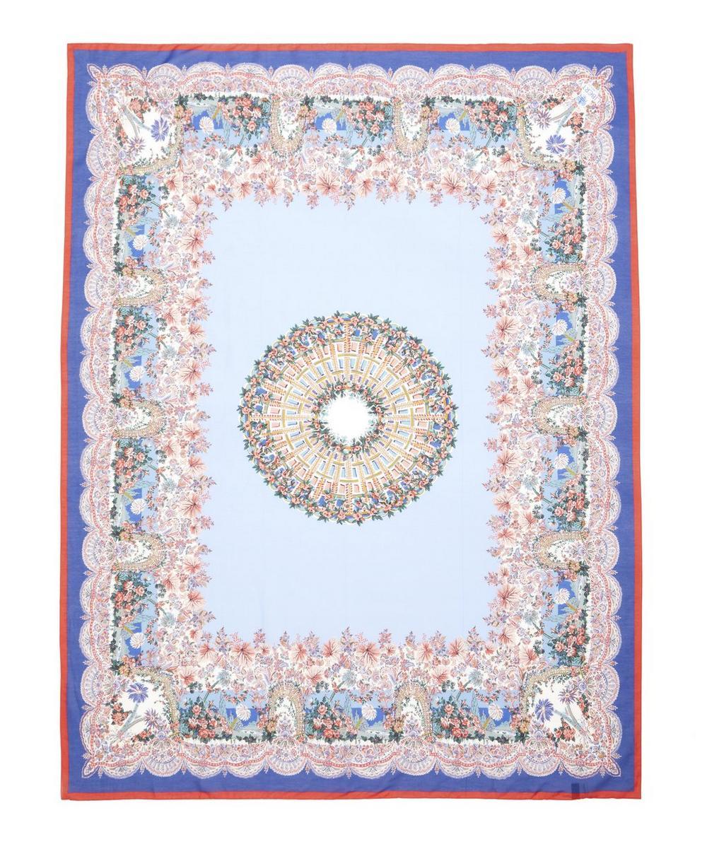 Liberty - Dina 147 x 111cm Silk-Cotton Scarf