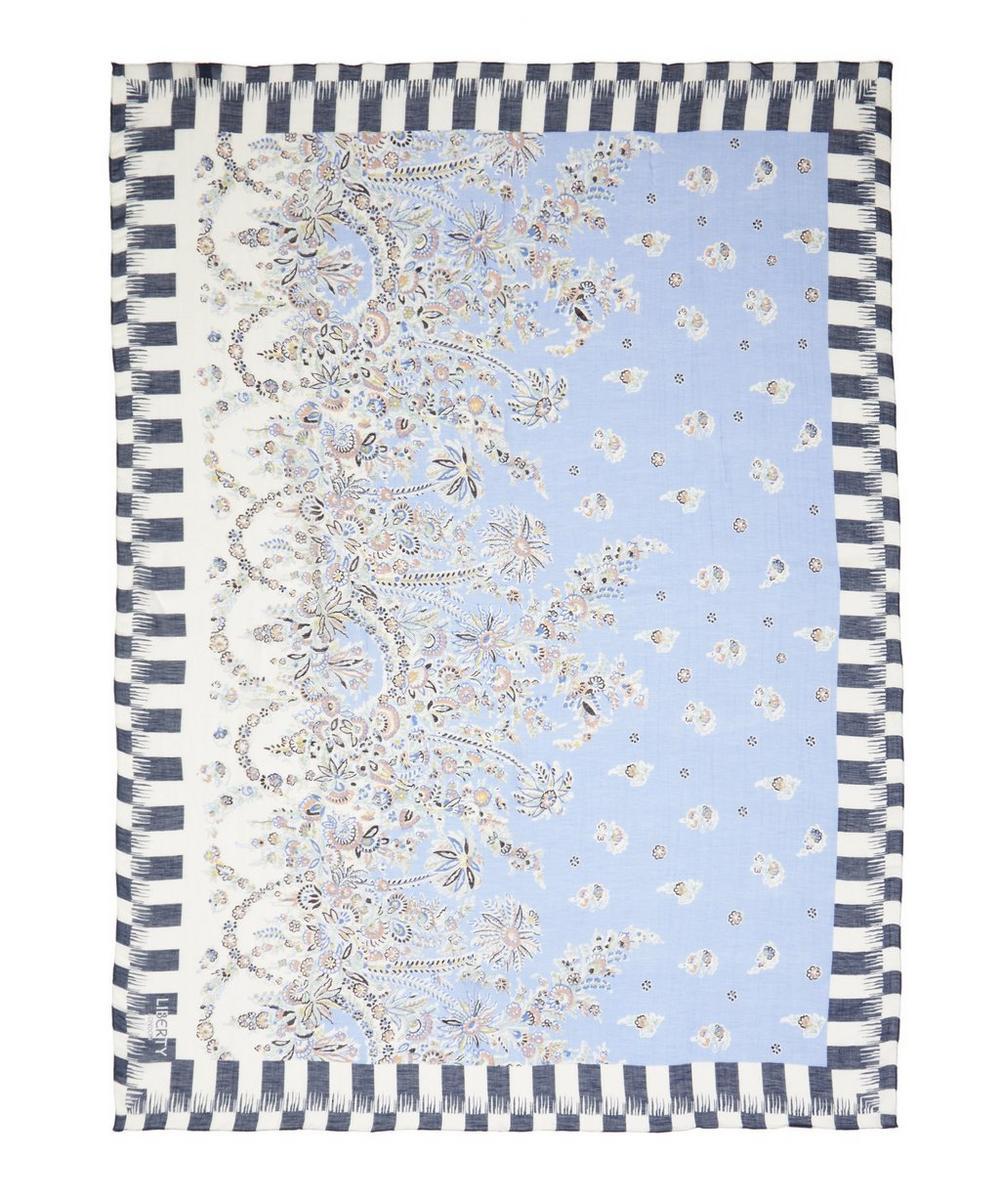 Liberty - Octavie 147 x 111cm Linen-Blend Scarf