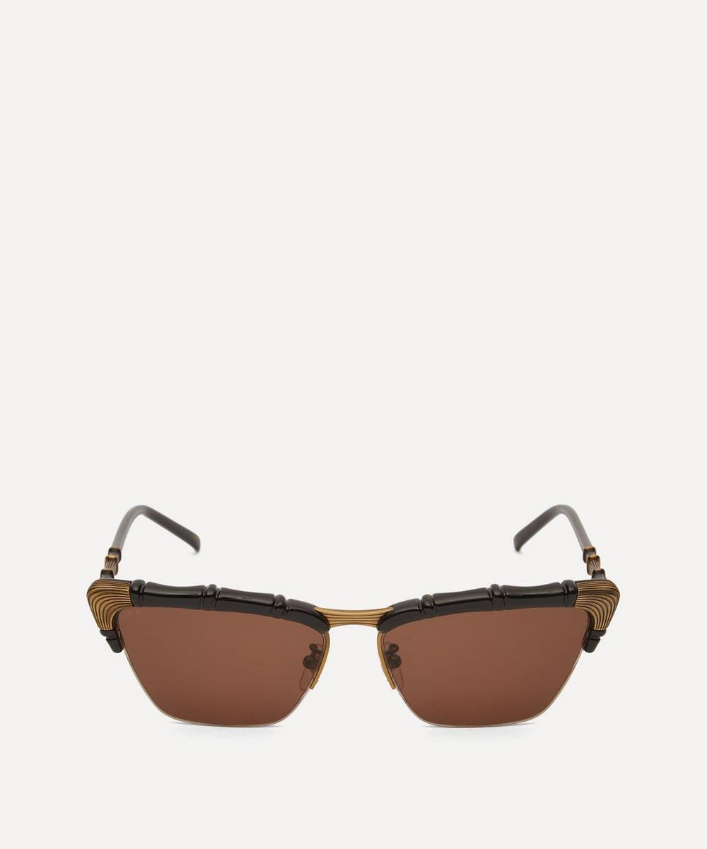 Gucci - Bamboo-Effect Cat-Eye Sunglasses