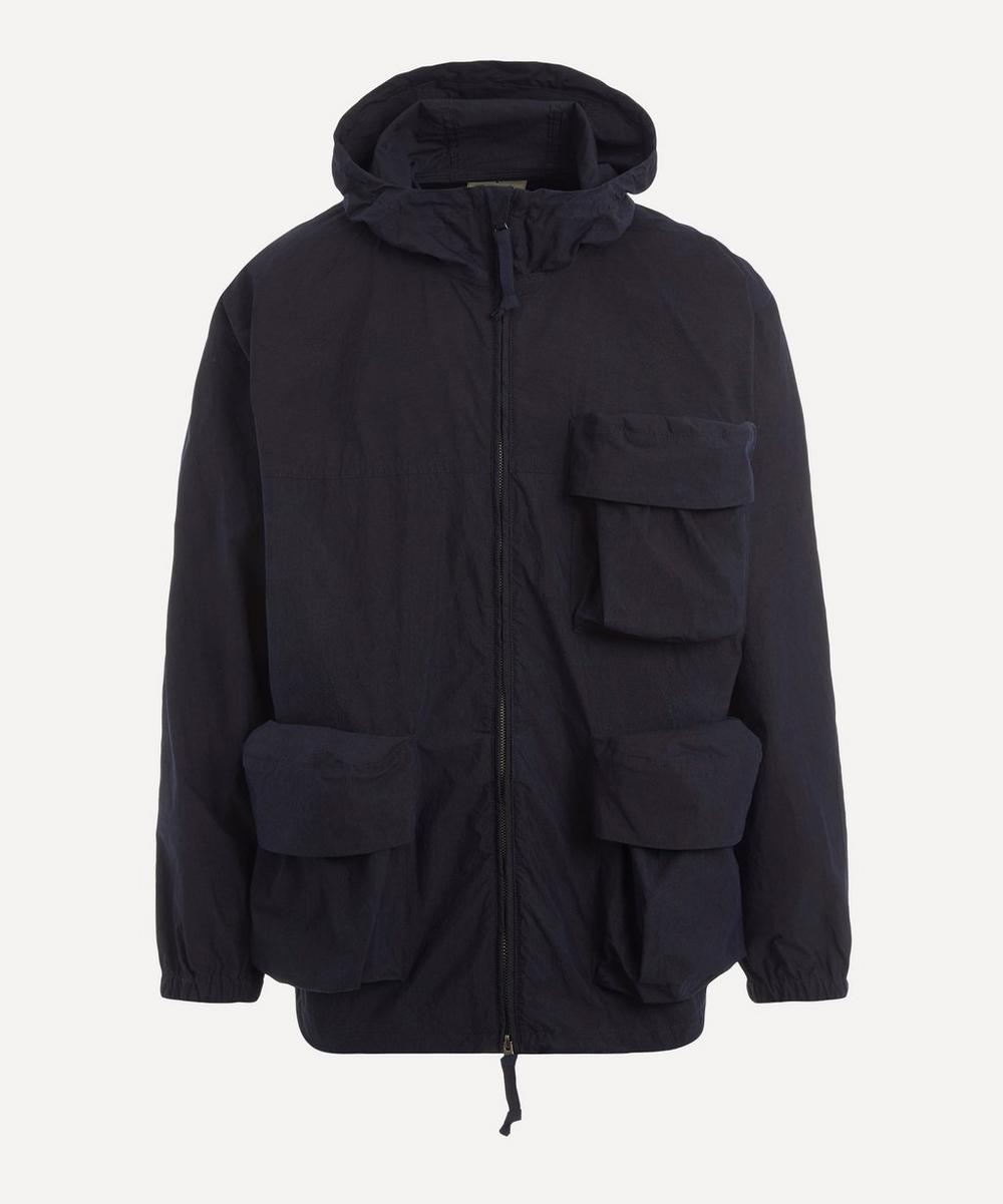 Snow Peak - Indigo Zip-Up Hooded Parka