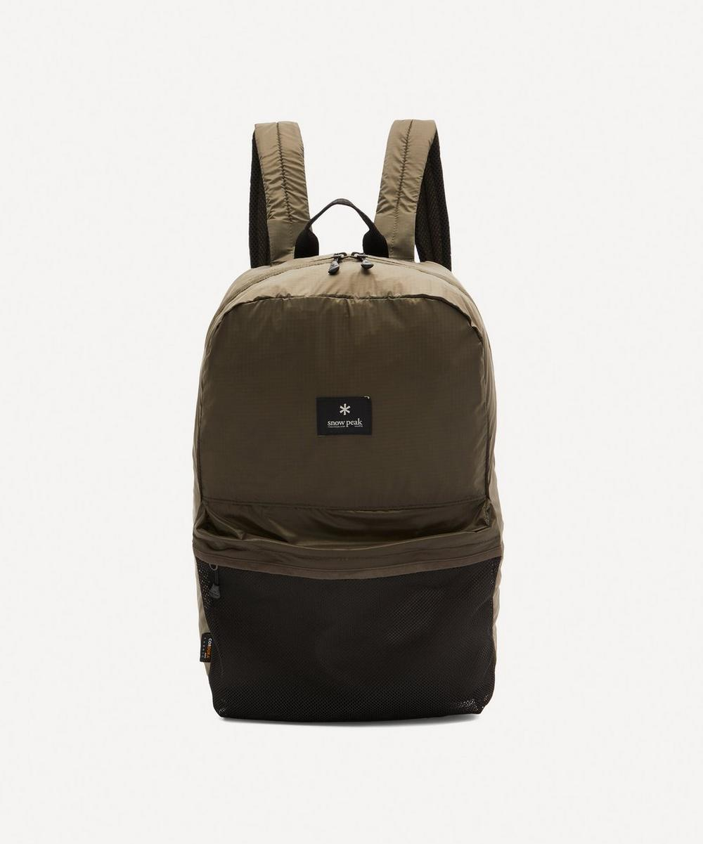 Snow Peak - Pocketable Day Backpack