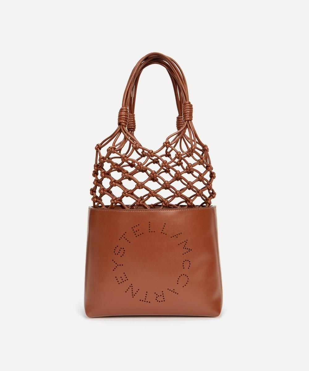 Stella McCartney - Knotted Faux Leather Tote Bag