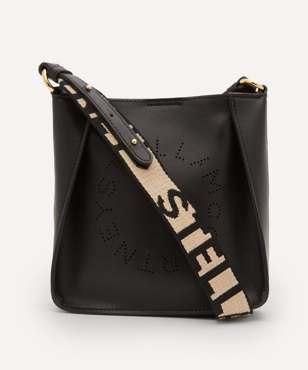 Stella McCartney - Mini Stella Logo Faux Leather Cross-Body Bag