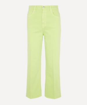 Joan High-Rise Cropped Wide Leg Jeans