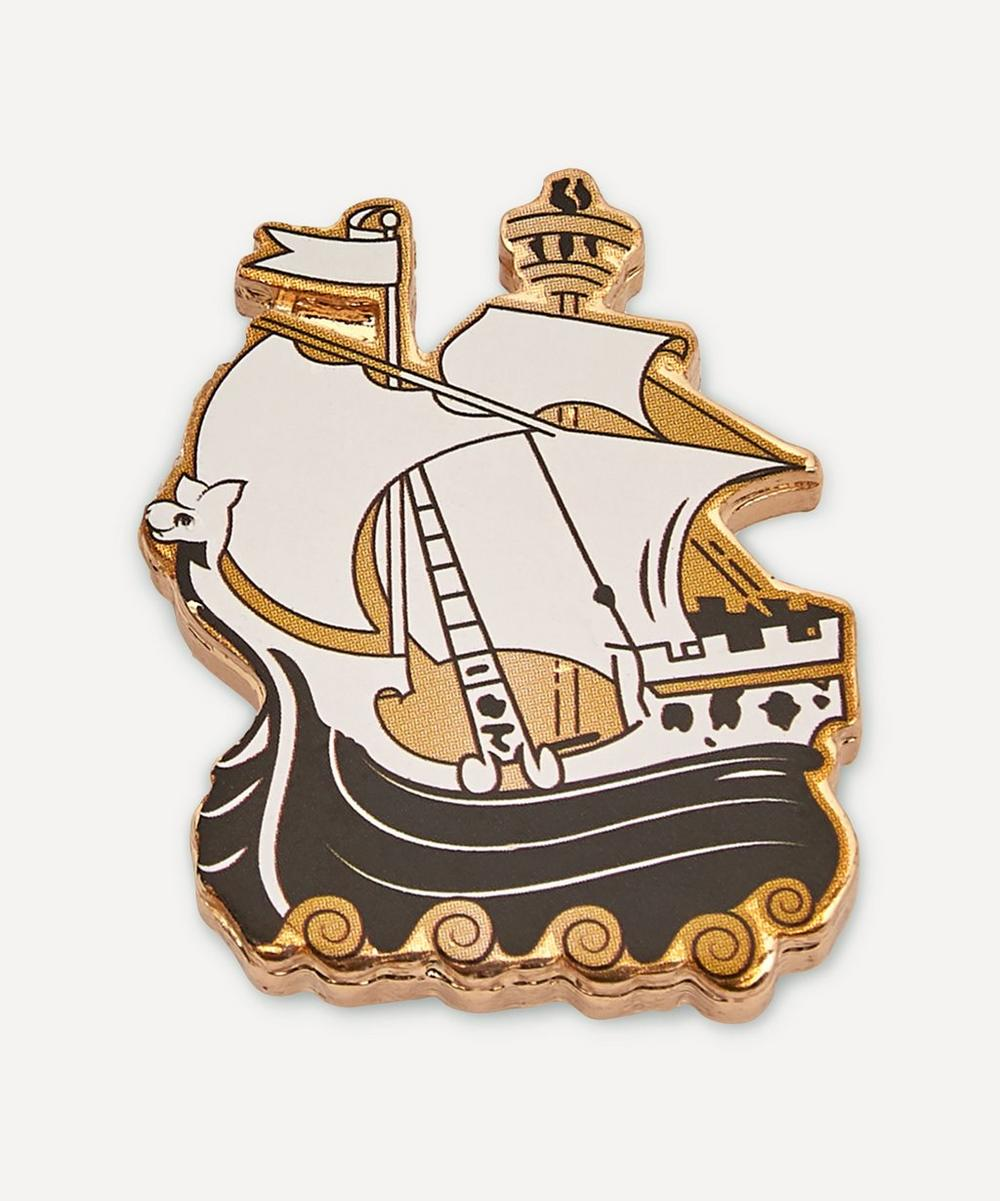 Liberty London - X Crocs Sailing Ship Jibbitz™ Charm