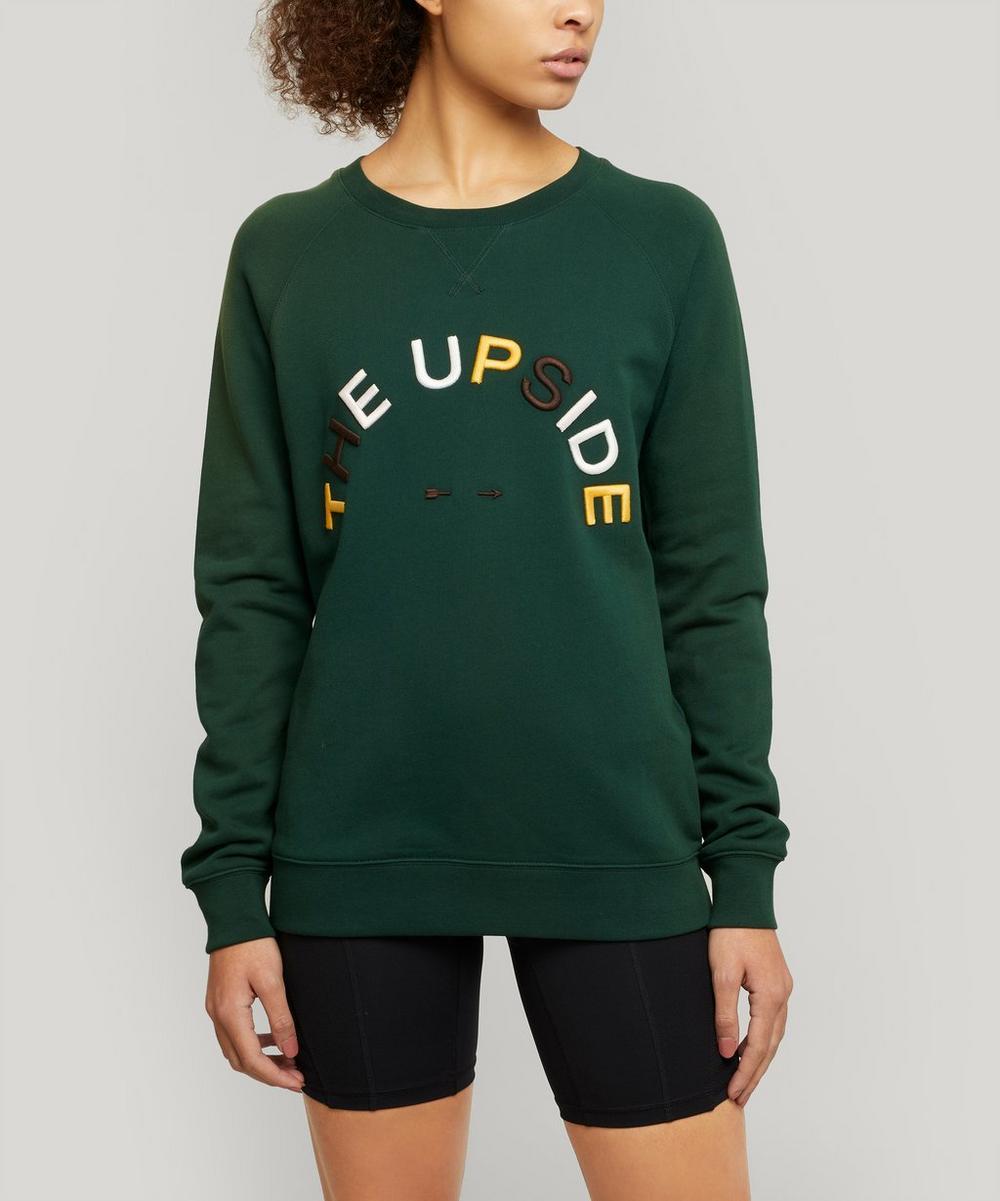 The Upside - Horseshoe Sid Logo Sweater
