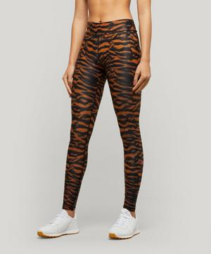 Tiger Print Yoga Leggings