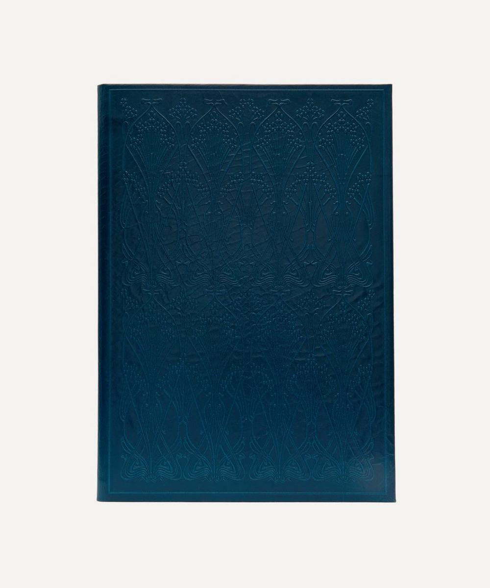 Liberty London - Leather Ianthe A4 Notebook