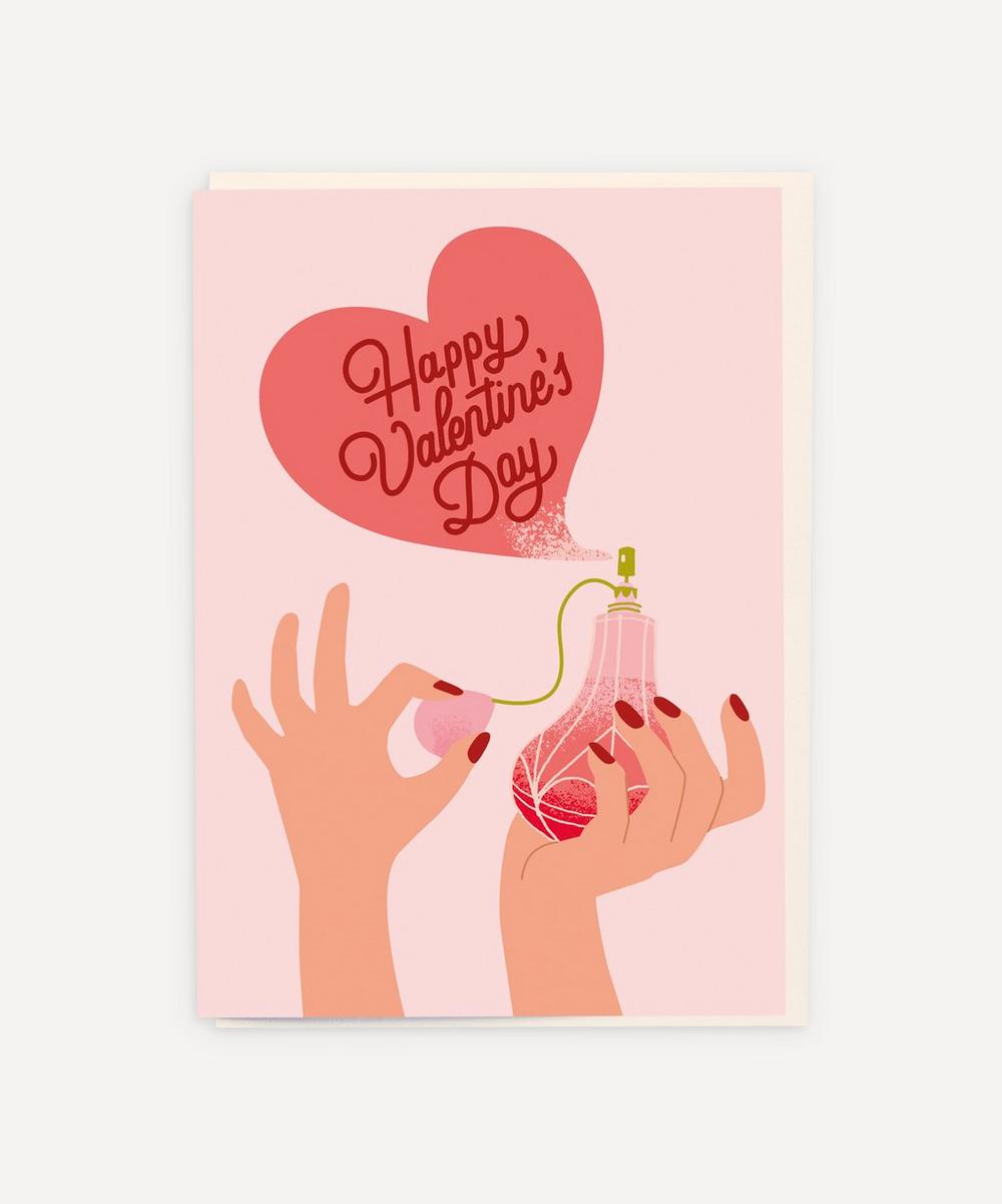 Unspecified - Perfume Happy Valentine's Day Card