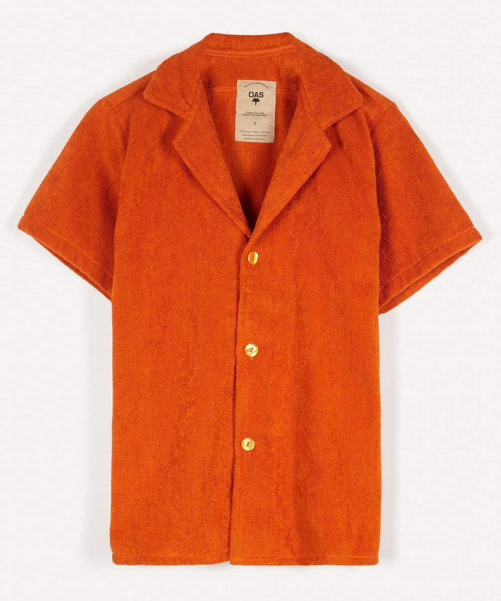 OAS - Cuba Terry Cotton Open Collar Shirt