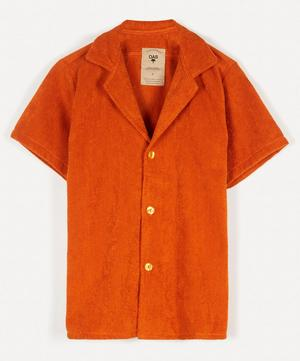 Cuba Terry Cotton Open Collar Shirt