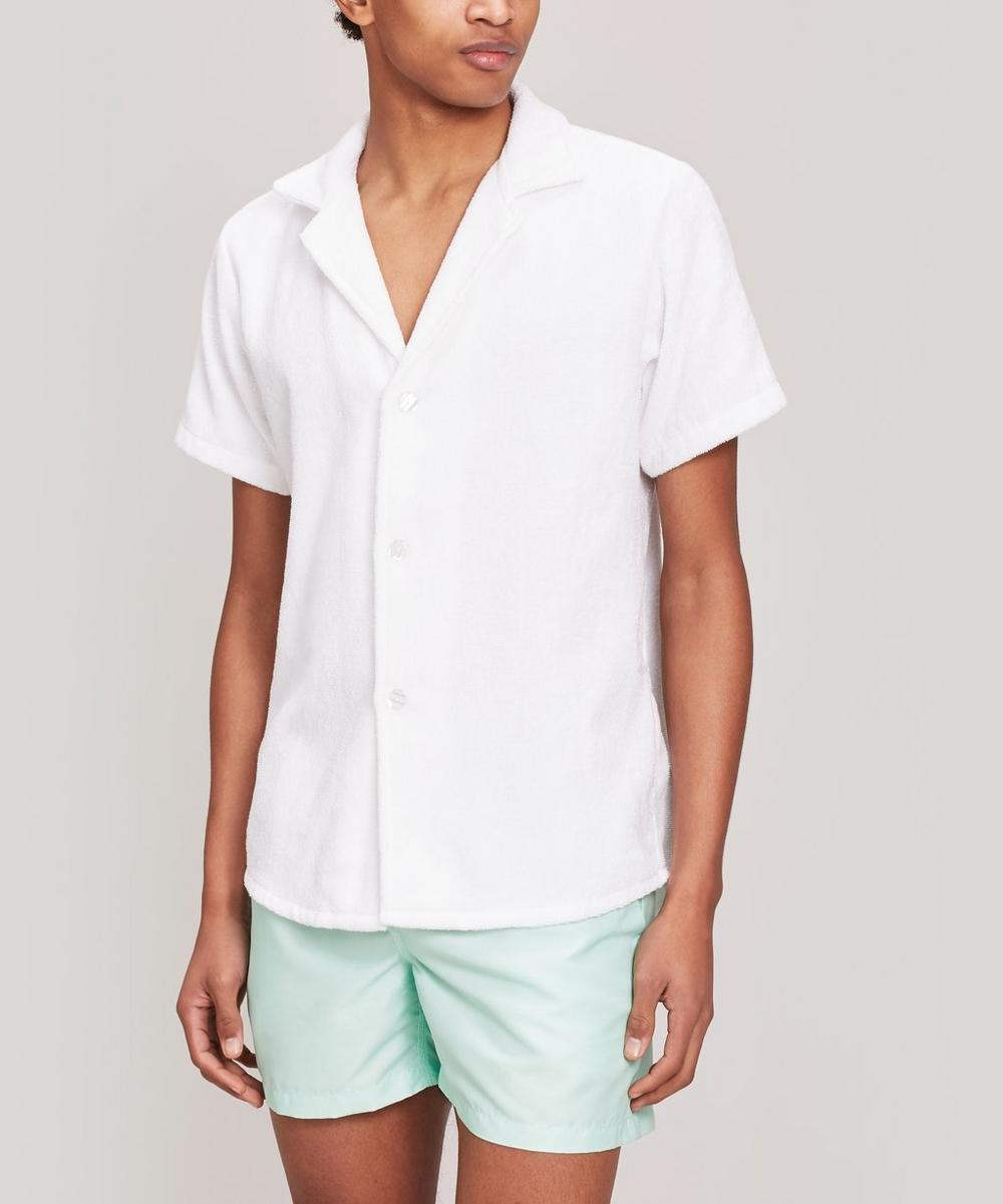 OAS - Cuba Terry Cotton Open Collar Shirt