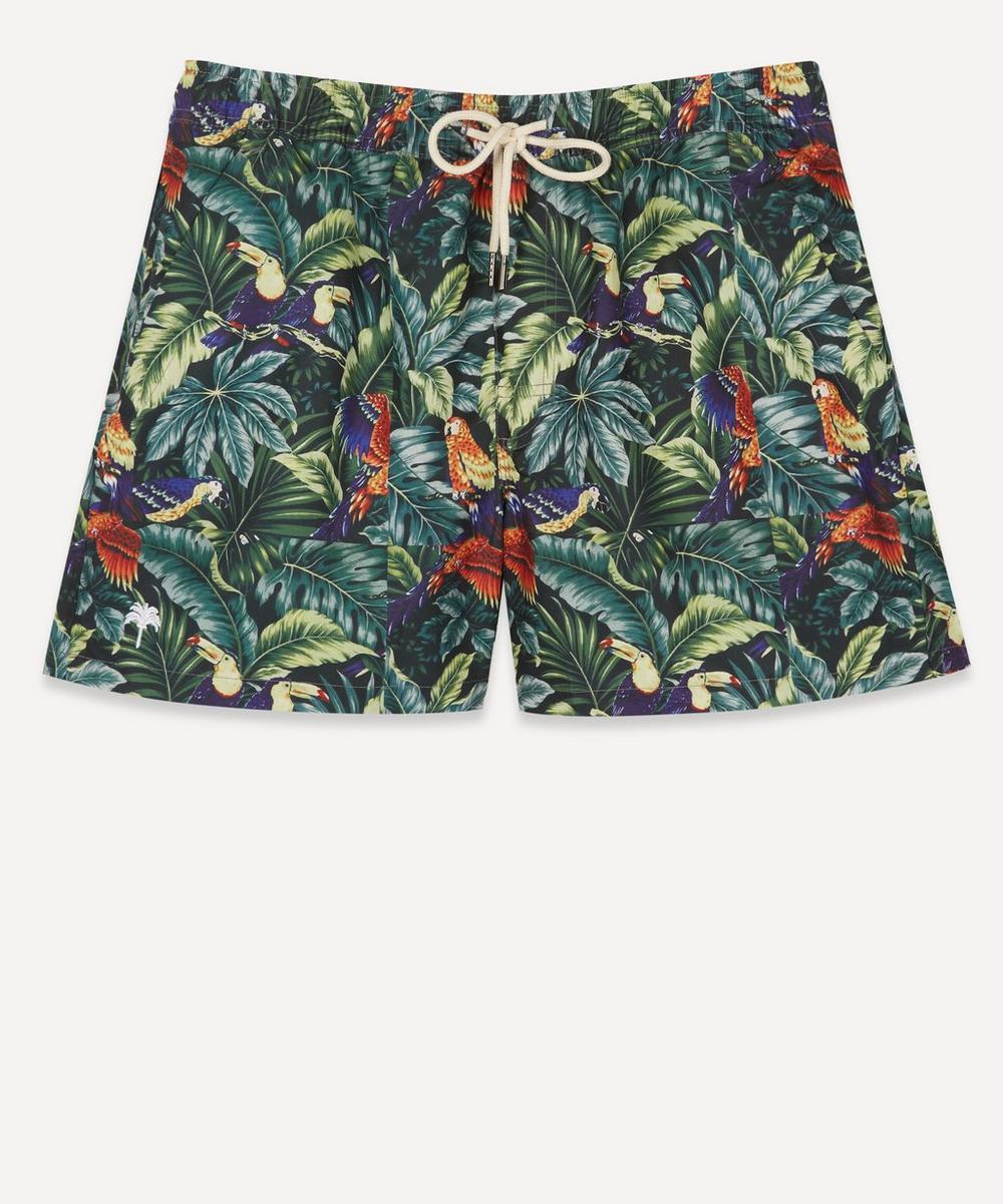 OAS - Parrot Leaves Swim Shorts