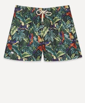 Parrot Leaves Swim Shorts