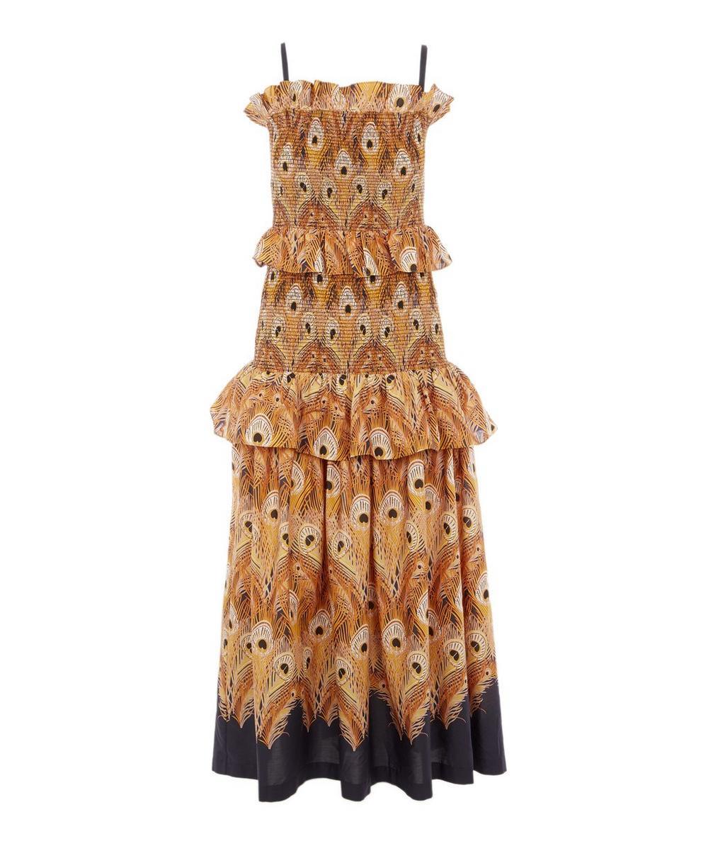 Liberty - Hera Tana Lawn™ Cotton Long Smocked Dress