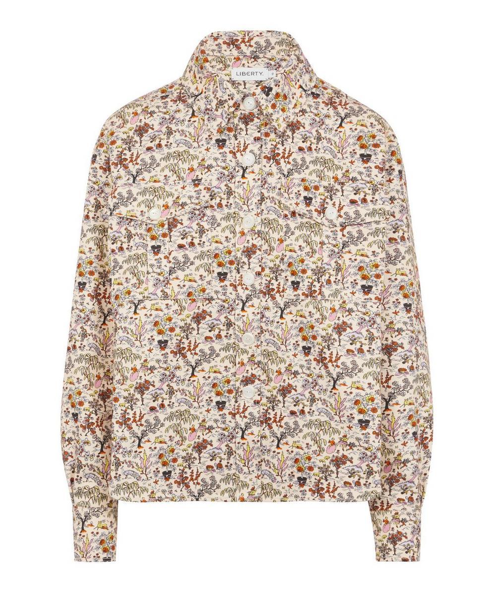 Liberty - Liddell Cotton Drill Workwear Shirt
