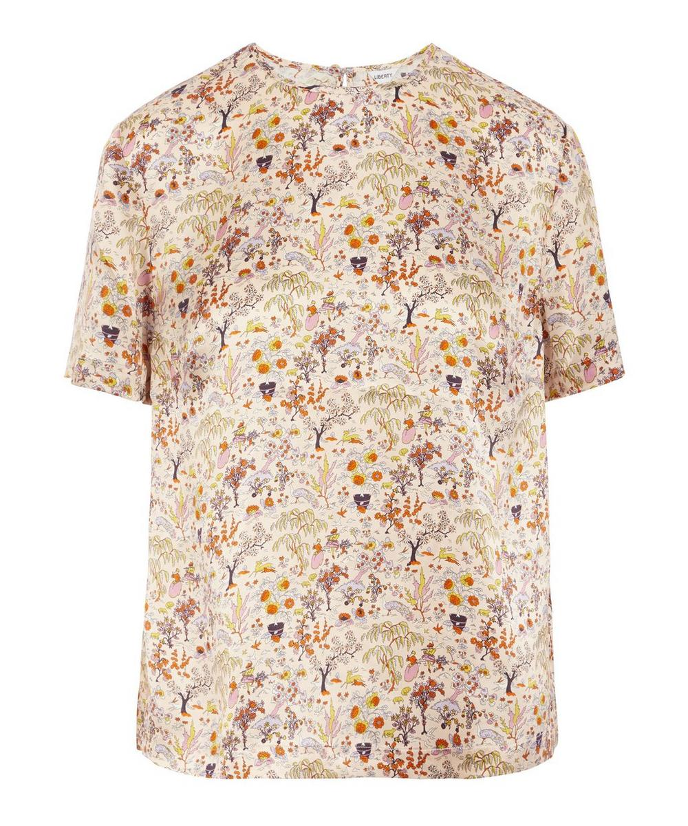 Liberty - Liddell Silk Satin T-Shirt
