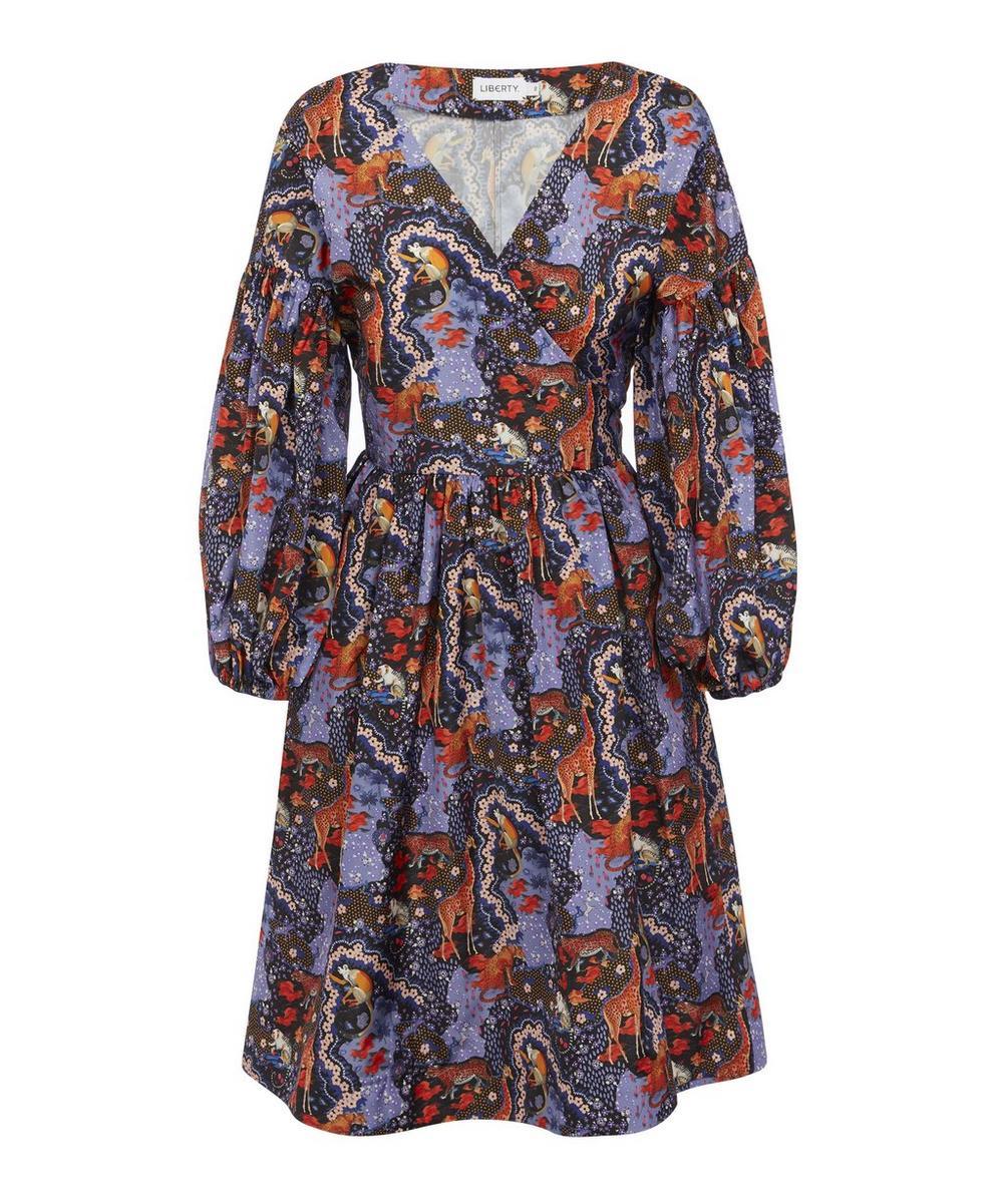 Liberty - Maxine Taffeta Tie Dress