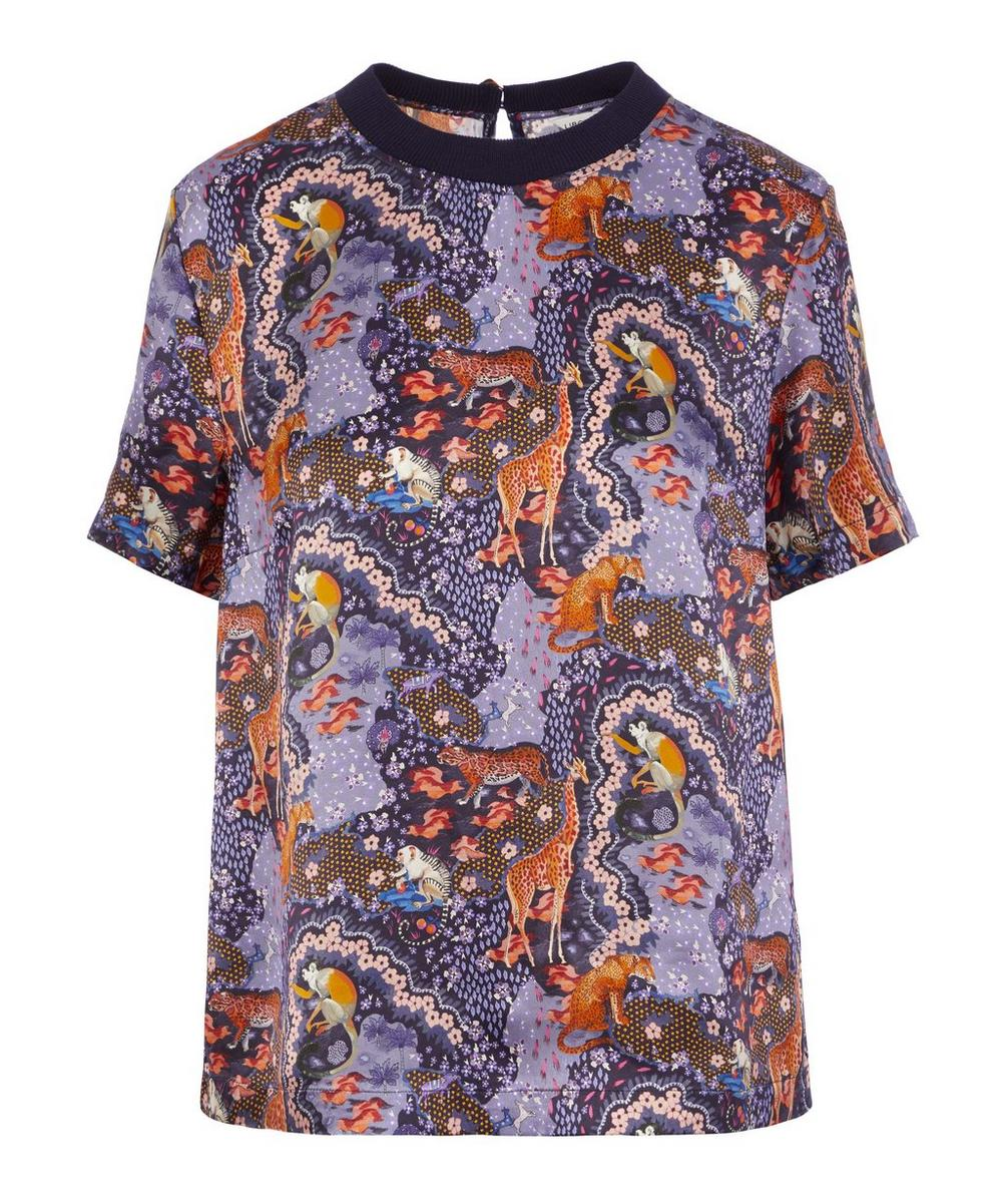 Liberty - Maxine Silk Satin T-Shirt