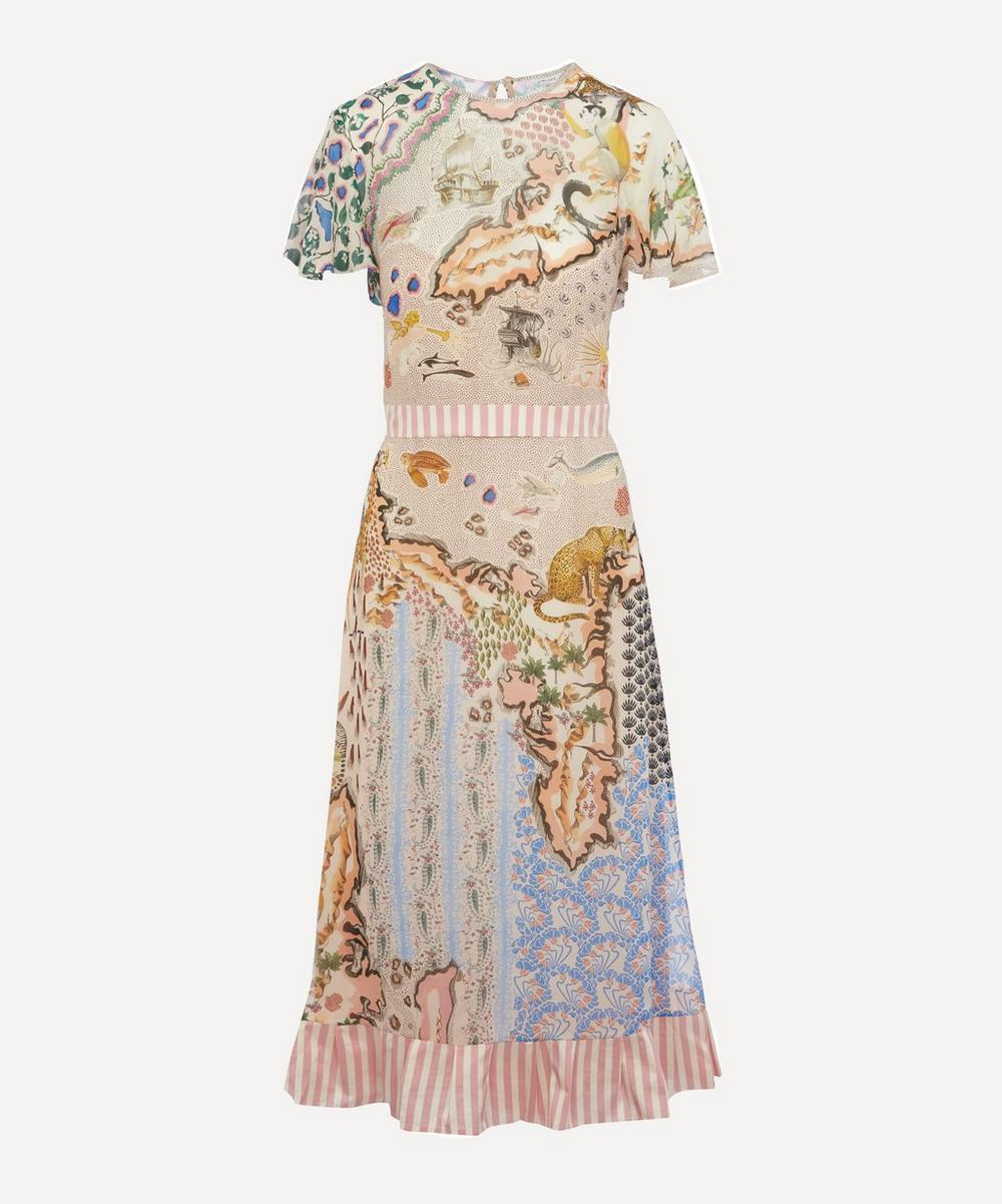 Liberty - Sedona Georgette Midi Dress