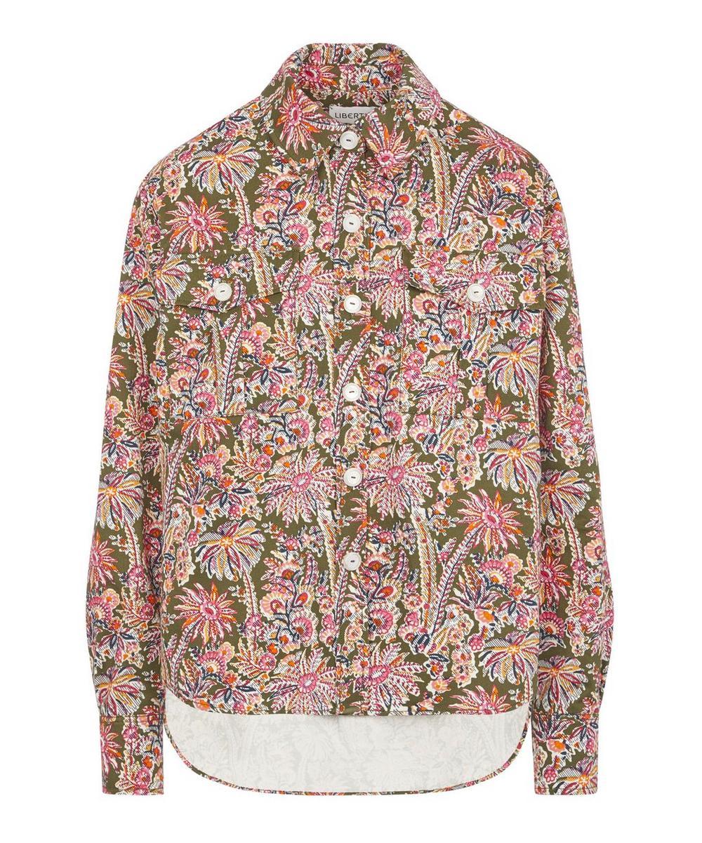Liberty - Octavie Cotton Drill Workwear Shirt