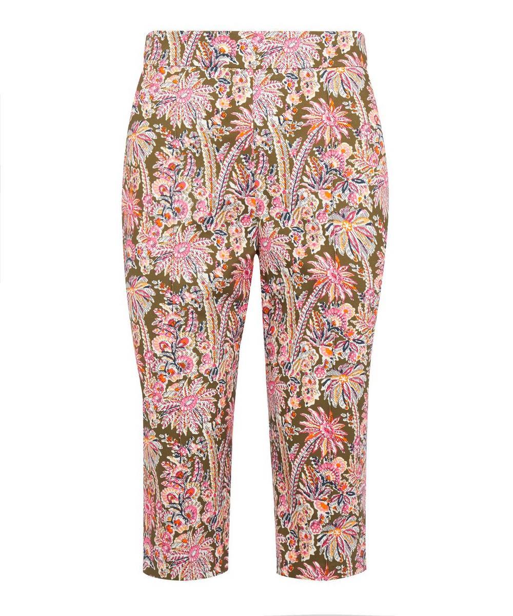 Liberty - Octavie Stretch-Cotton Capri Pants
