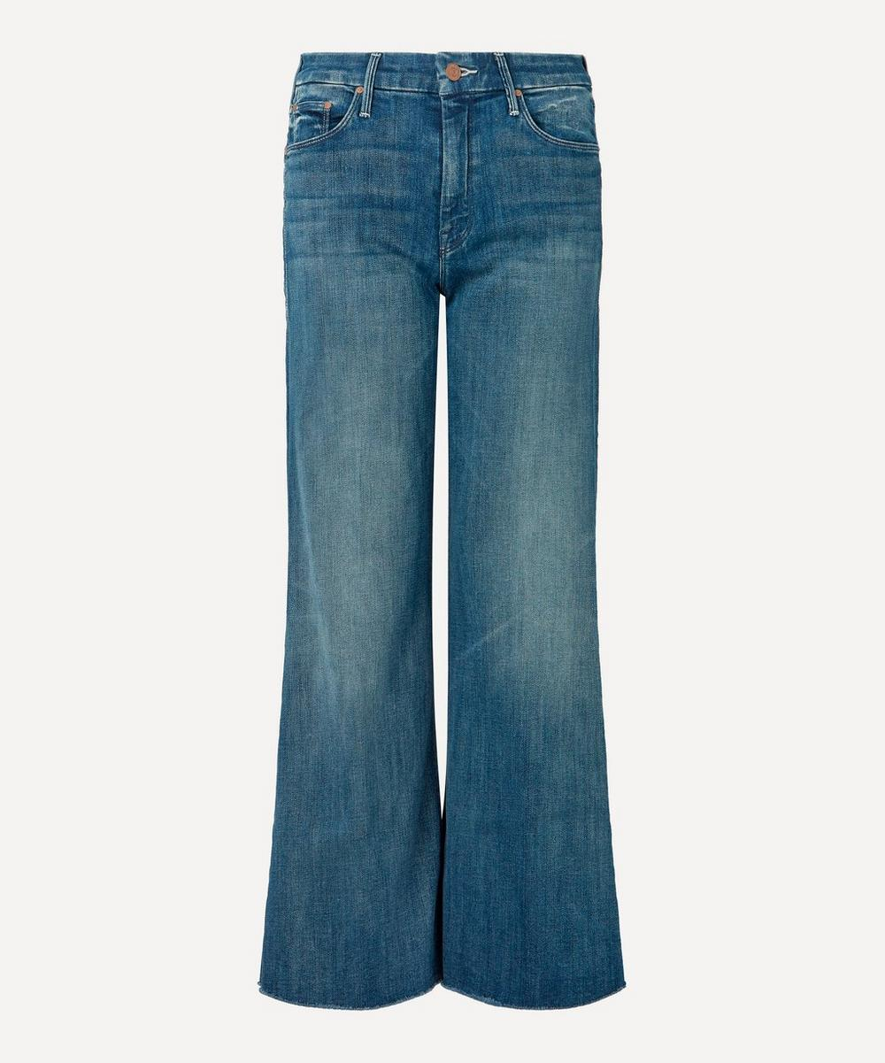 Mother - The Roller Ankle Fray Wide-Leg Jeans