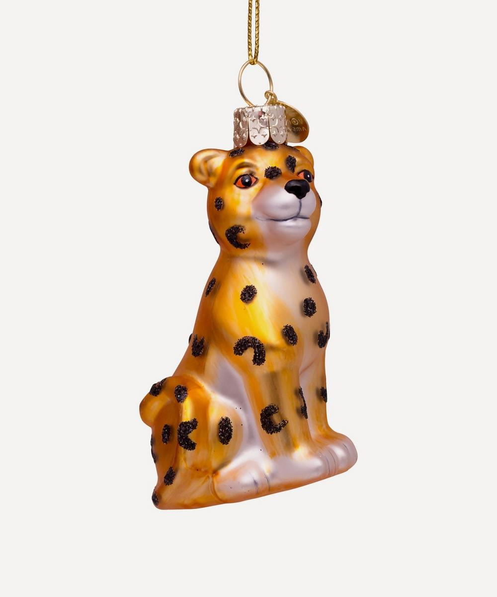 Unspecified - Glass Baby Panther Ornament