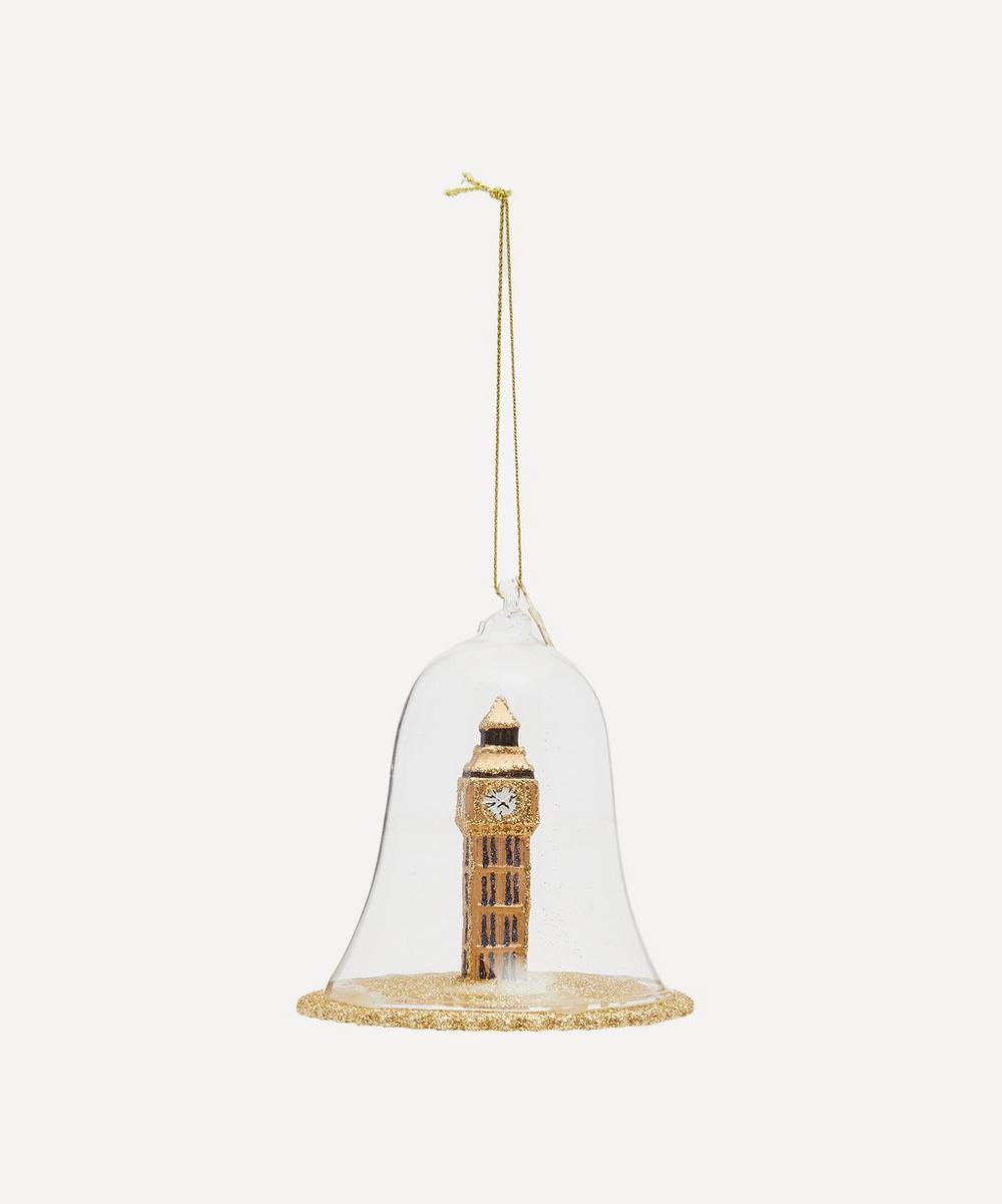 Unspecified - Glass Big Ben In Dome Ornament